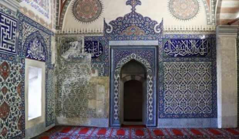 Selimiye Camii'nin çinileri Rusya'dan getirilecek