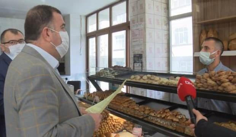 Bağcılar'da 2 liraya ekmek satanlara denetim