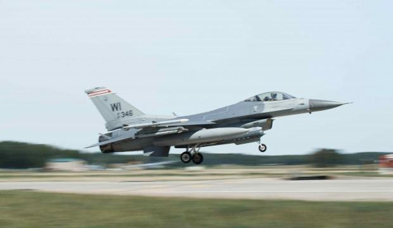 Michigan'da düşen F-16'nın pilotu öldü