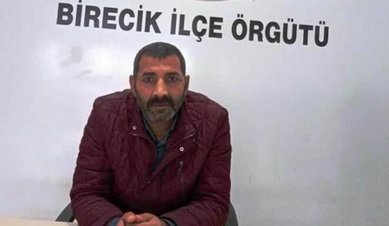 Şanlıurfa'da HDP Birecik İlçe Başkanı gözaltına alındı