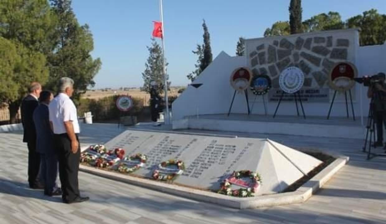 Rumlar tarafından katledilen 14 Kıbrıs Türk çocuk, 46 yıl sonra toprağa verilecek