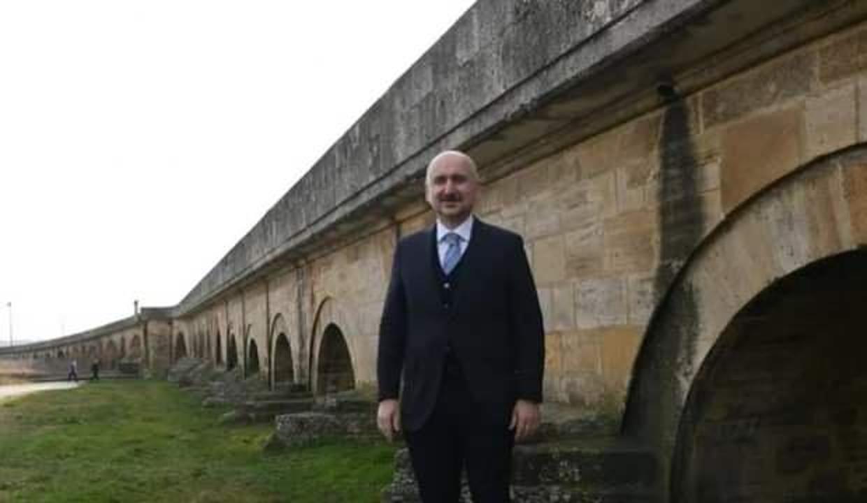Bakan Karaismailoğlu: Tarihi köprüleri turizme kazandırıyoruz