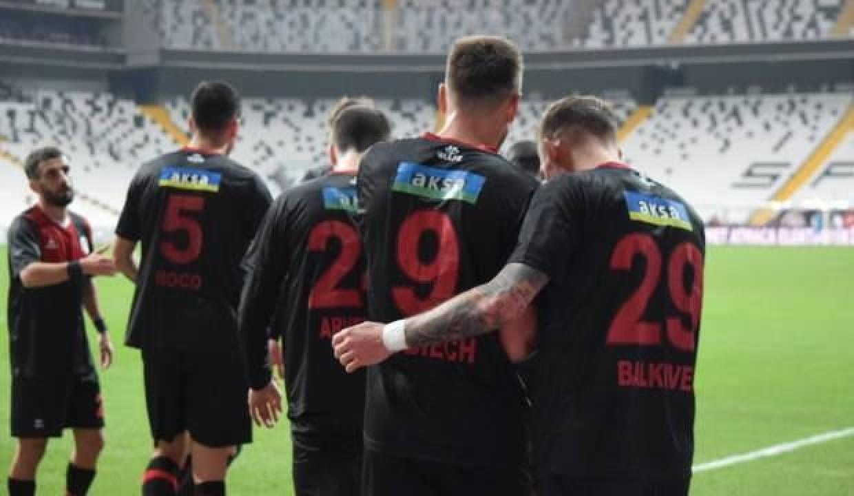 Fatih Karagümrük'ten Beşiktaş'a teşekkür