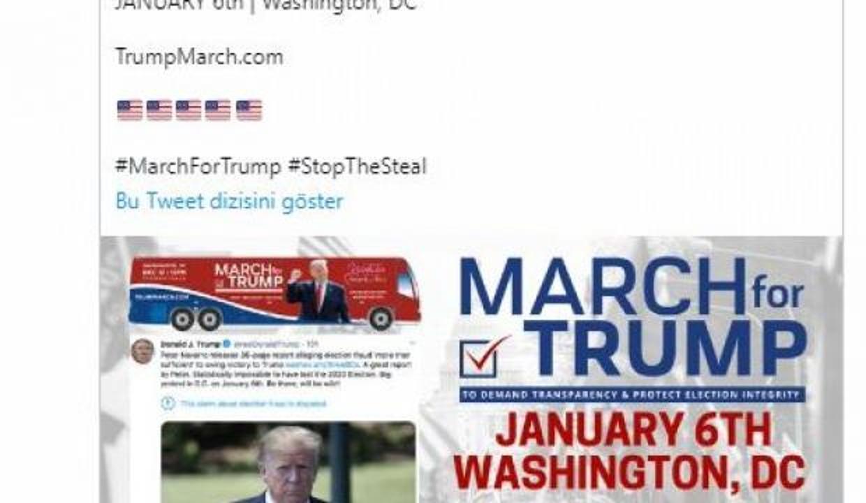 """FBI'dan Trump destekçisinin """"6 Ocak"""" paylaşımına inceleme"""