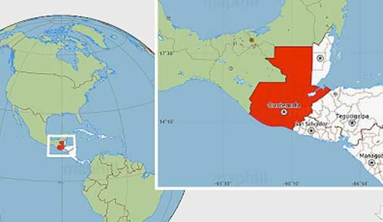 Guatemala'da 5,9 büyüklüğünde deprem oldu