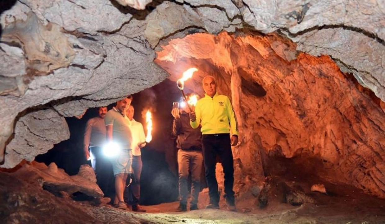 Şanlıurfa'da Bizans döneminden kalma mağara bulundu