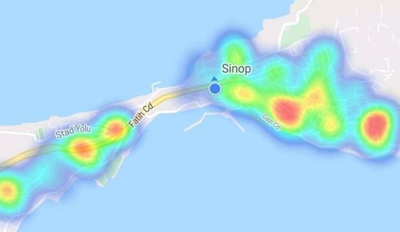 Türkiye'nin en yaşlı nüfusuna sahip Sinop'ta koronavirüs haritası yeşile döndü!