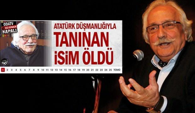 Odatv'den skandal Yavuz Bahadıroğlu manşeti