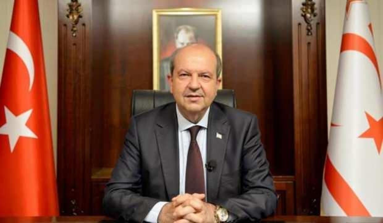 KKTC Cumhurbaşkanı Tatar'dan Başkan Erdoğan'a teşekkür