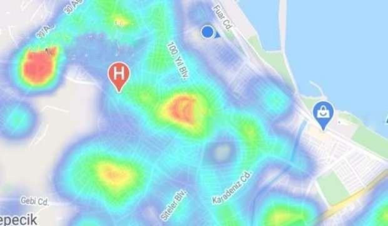 Samsun'un koronavirüs risk haritası yeşile dönmeye başladı!