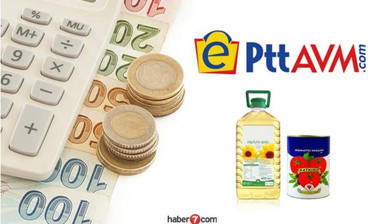 PttAVM yağ, bakliyat, salça fiyatları belli oldu! PTT ayçiçek yağı fiyatı ne kadar?