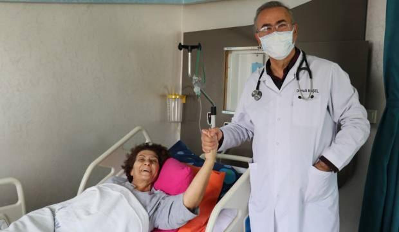 Gittiği doktorların 'masada kalırsın' dediği hasta Van'da yapılan operasyonla sağlığına kavuştu