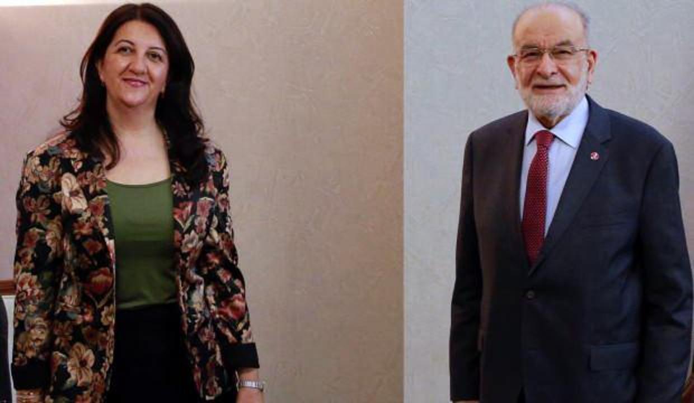 Saadet Partisi'nden HDP'nin ziyaretine ilişkin açıklama