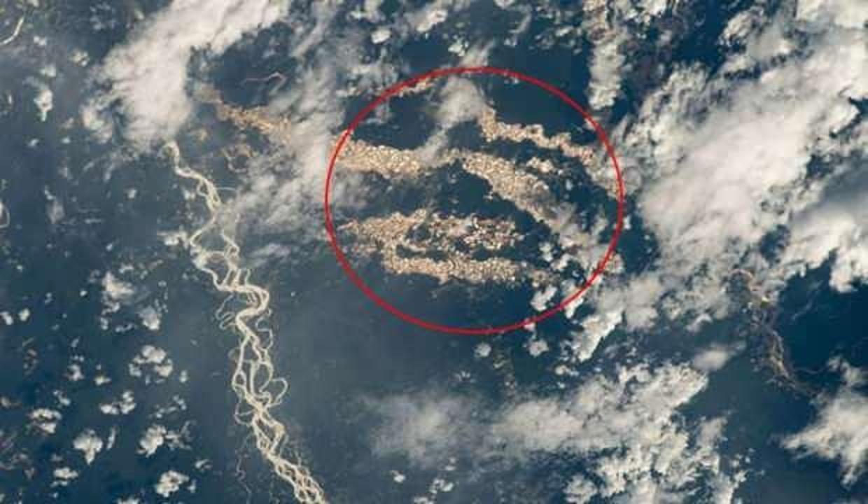NASA, Amazon'daki 'altın nehirleri' uzaydan fotoğrafladı