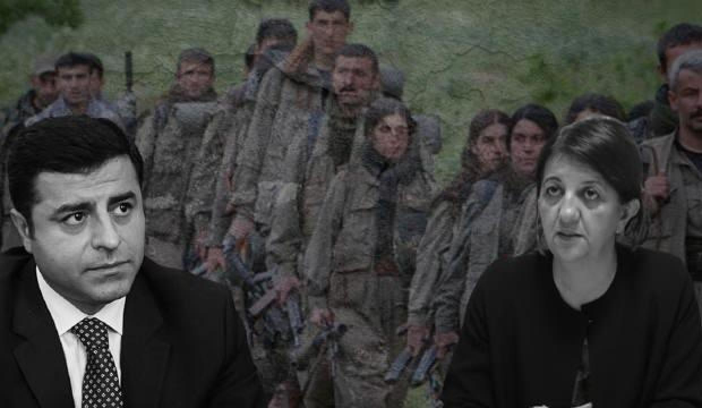 HDP'nin 'kınama' oyunu: PKK'yla bağlantıları yokmuş!