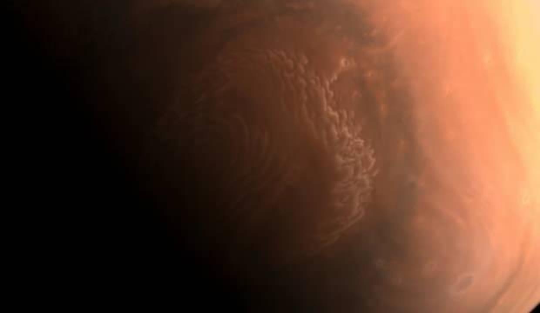 Çin'in uzay aracı Mars'tan yeni fotoğraflar yolladı