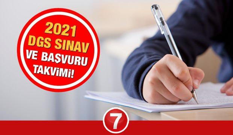 ÖSYM 2021 DGS sınavı başvuruları ne zaman başlayacak? Dikey Geçiş Sınav ve başvuru takvimi!
