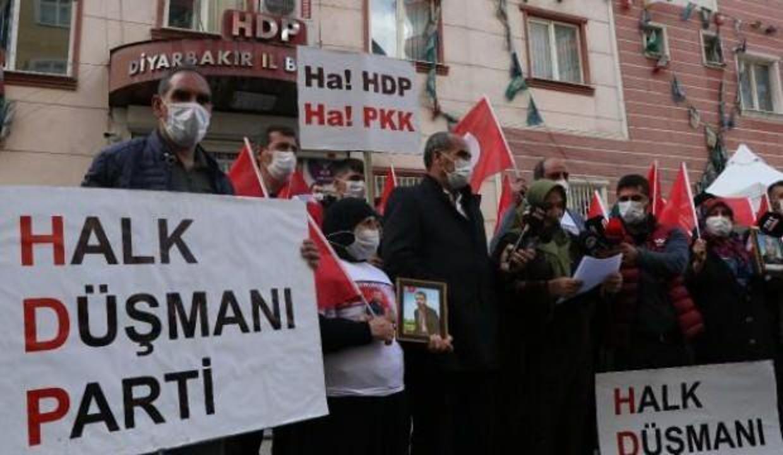 Evlat nöbetindeki ailelerden HDP'ye kapatma davasına destek