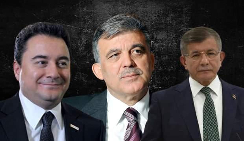 Gül, Babacan ve Davutoğlu HDP'ye sahip çıkıyor