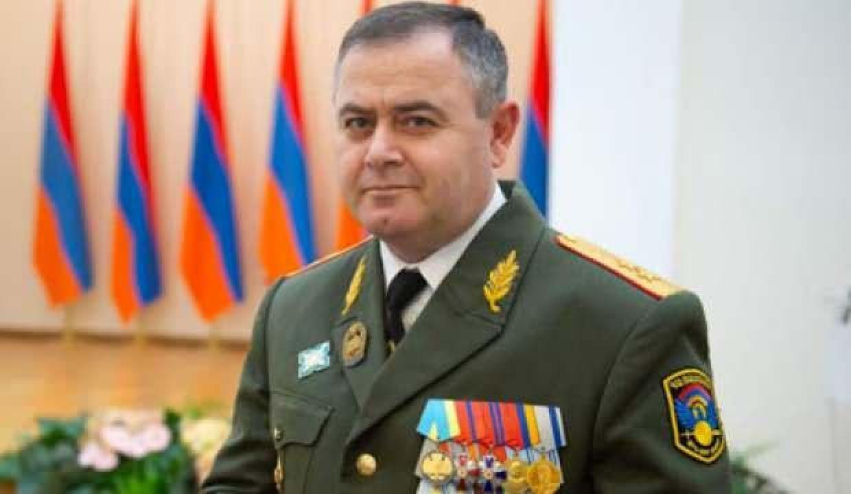 Ermenistan Genelkurmay Başkanlığı'nda değişim!