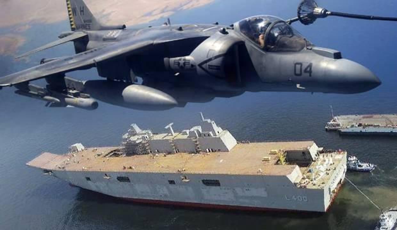 Türkiye Harrier savaş uçaklarını almayacağını duyurdu! 'TCG Anadolu SİHA'larla donatılacak'
