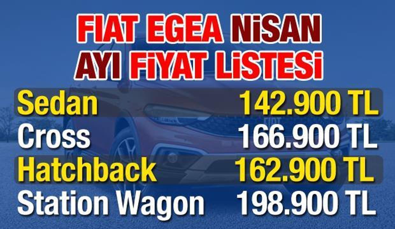 Fiat 2021 Nisan ayı zamlı fiyat listesi: Sıfır araç modellerine 10 bin TL zam!