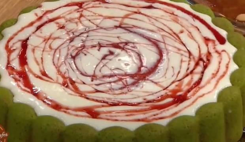 Tart kalıbında karpuz kek nasıl yapılır? Ispanaklı karpuz pasta tarifi...