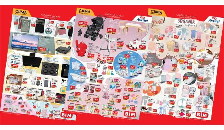 BİM 9 Nisan 2021 Aktüel Kataloğu   Elektronik, züccaciye, tekstil, bebek bakım ürünlerinde...