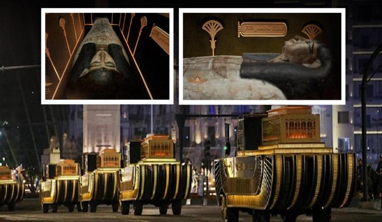 """Firavunların Altın Geçidi"" şovu Mısır'a pahalıya mal oldu"