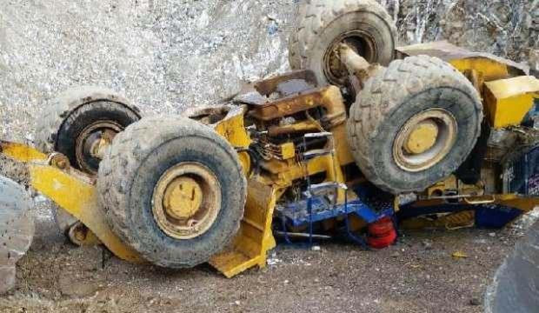 Manyezit madeninde feci ölüm!