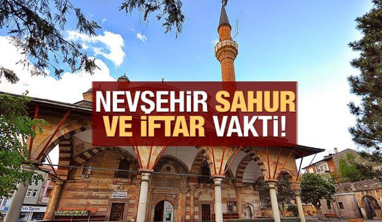 Nevşehir İmsakiye 2021 Diyanet Nevşehir sahur yaptım saatleri ve iftar vakti
