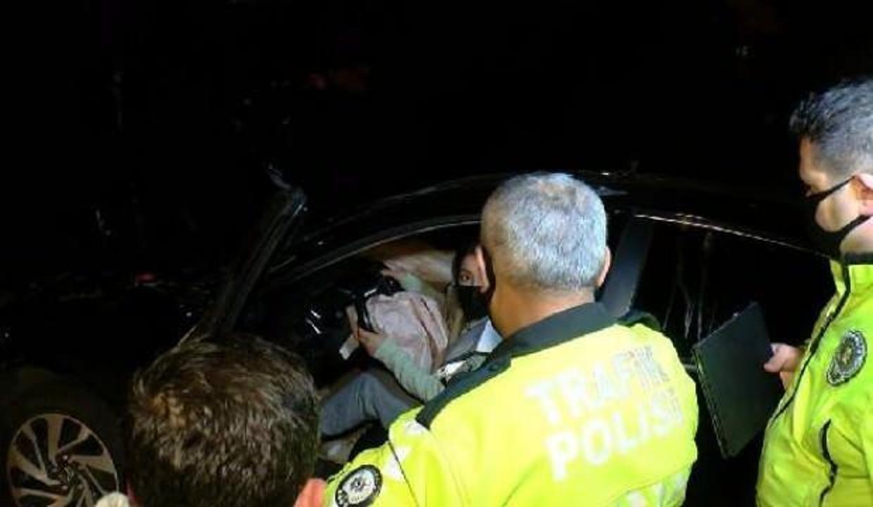 Polis ekipleri kaza sonrası sürücüyü koltuğa oturtunca inanamadılar!