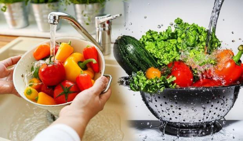 Uzmanlardan meyve ve sebzeyi karbonatlı suyla yıkayın uyarısı