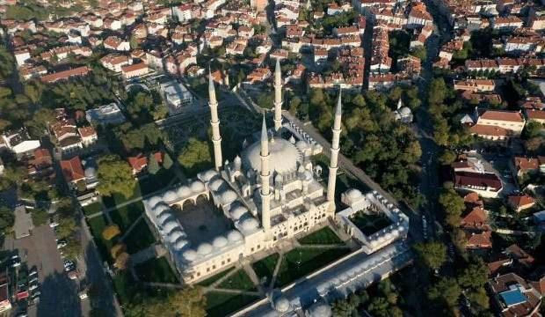 Selimiye Camii'nin çevresine düzenleme