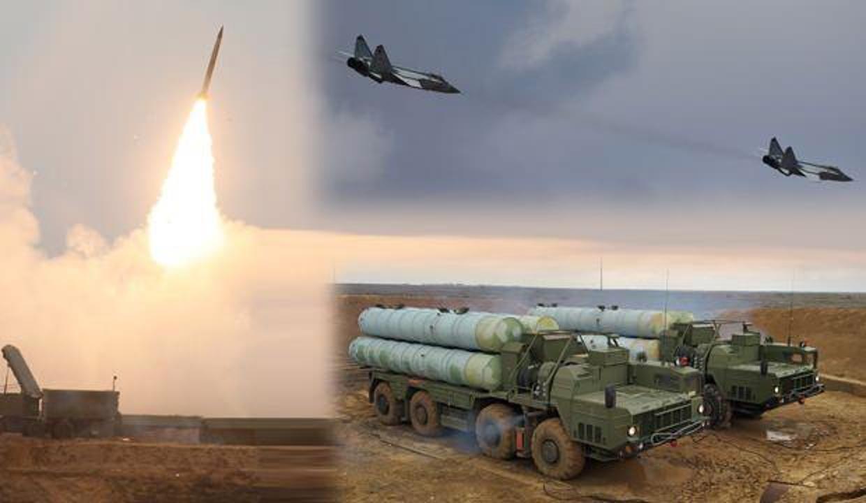 Rusya'da S-400'ler ateşlendi, savaş uçakları kaçtı