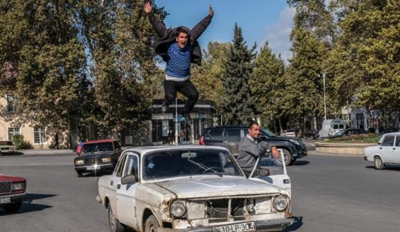 Şuşa sevinci fotoğrafına YTB özel ödülü