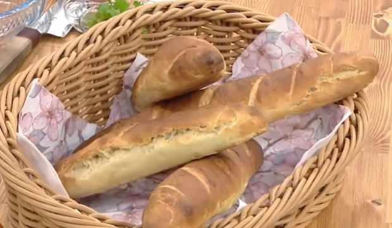 Evde baget ekmek nasıl yapılır? Baget ekmek tarifi...