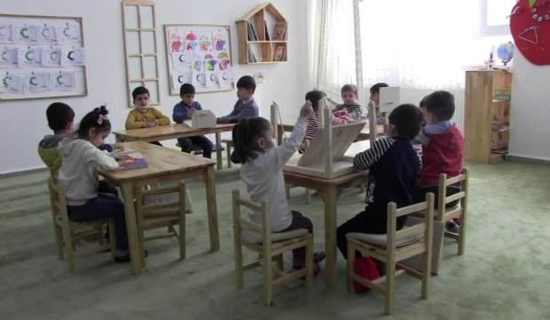 Siirt'te anaokullarında 2 gün yüz yüze eğitime devam edilecek