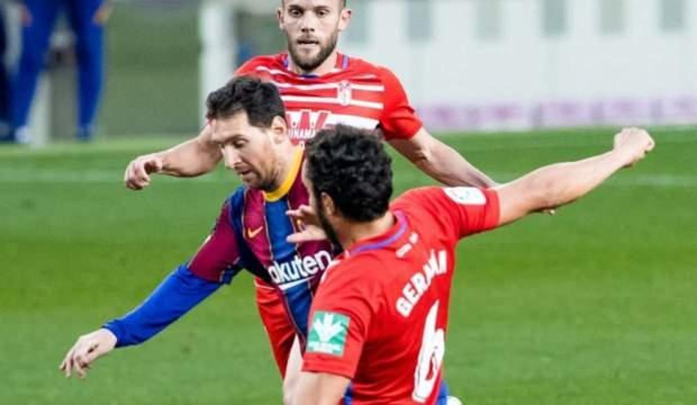 Barcelona'ya evinde Granada şoku!