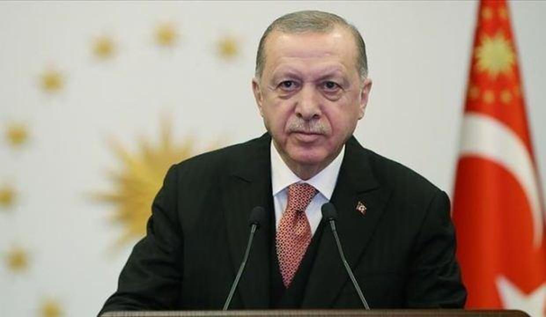 Başkan Erdoğan, Avrupa'daki bazı Türk sivil toplum kuruluşu temsilcilerini kabul etti