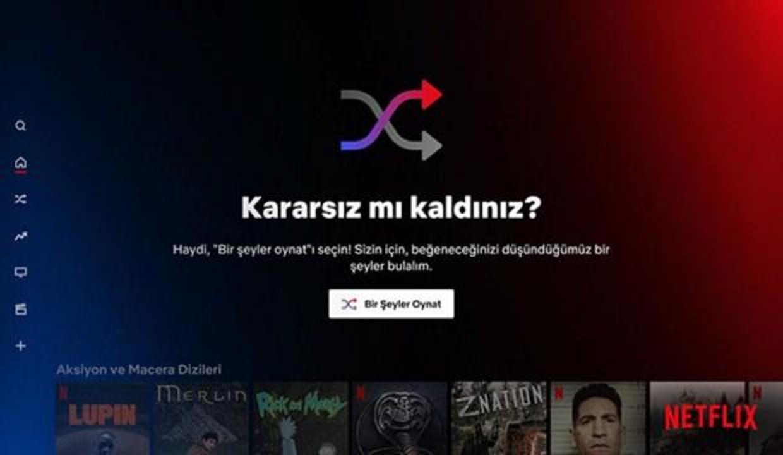 Netflix'ten karasızlar için 'Bir Şeyler Oynat' özelliği