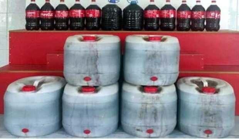 Sahte şarap operasyonu: 200 litre ele geçirildi