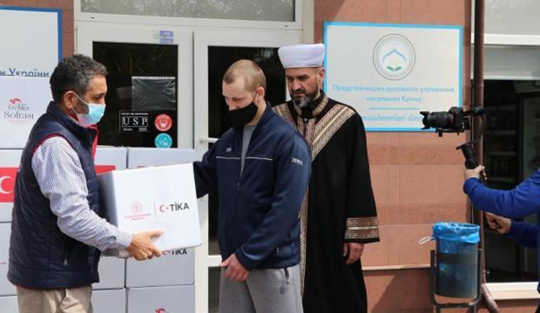 TİKA'dan Ukrayna'ya ramazan yardımı