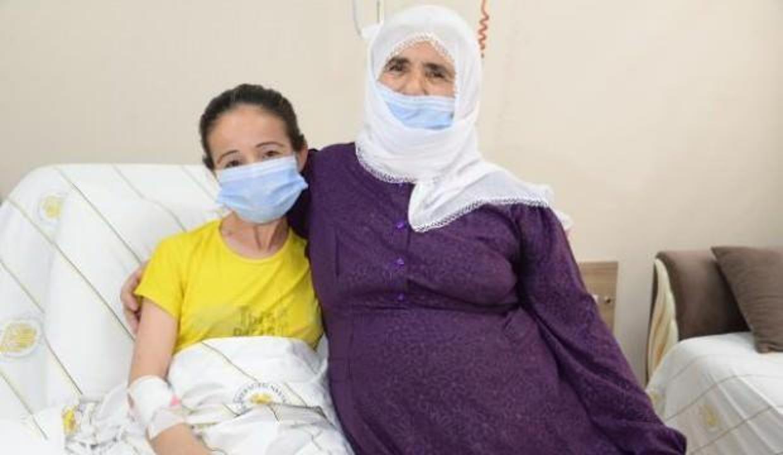 Diyarbakır'da anneler günü öncesi kızına böbreğini verdi!