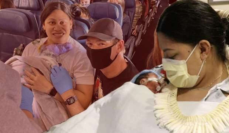 Hamile olduğunu bilmeyen kadın uçakta doğum yaptı