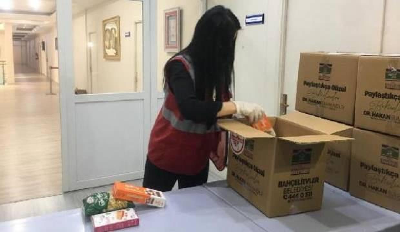 Bahçelievler'de çölyak hastalarına gıda yardımı yapıldı