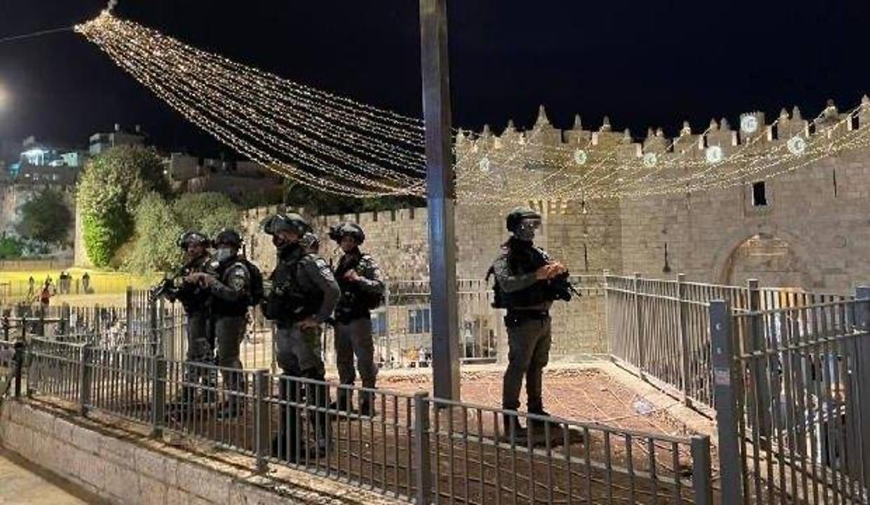 İsrail polisi Şam Kapısı'nda Filistinlilere saldırdı: 3 yaralı