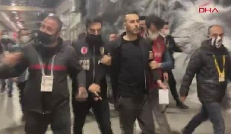 Vodafone Park'ta maç sonu kavga çıktı!