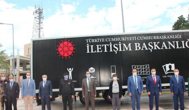 Cumhurbaşkanlığı İletişim Başkanlığı Dijital Tırı, Bilecik'te ziyarete açıldı