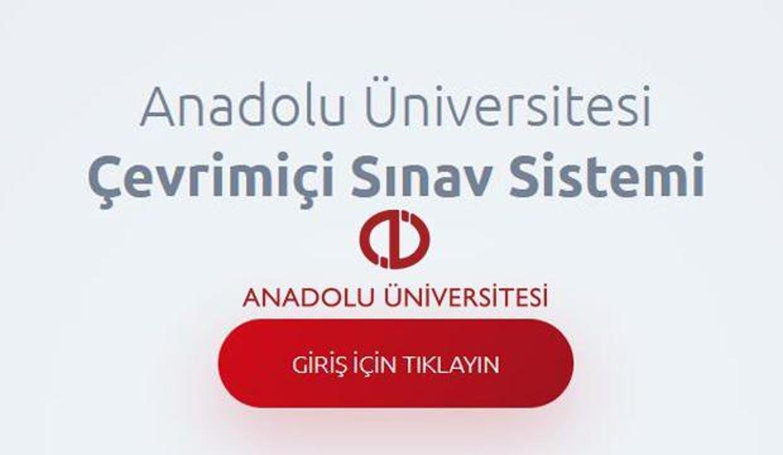 AÖF final sınavı öğrenci giriş ekranı 2021! Anadolu Üniversitesi kopya çekilen derslerin iptal...